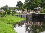 Schleuse mit Fehnbrücke